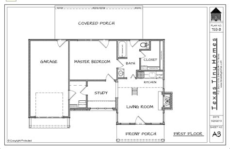 Plan 783 Texas Tiny Homes Plans For Micro Homes
