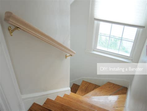 Install Banister by Diy Installing A Banister For Stairs Decora