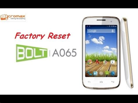 pattern unlock micromax a064 how to hard reset micromax a065 and forgot password