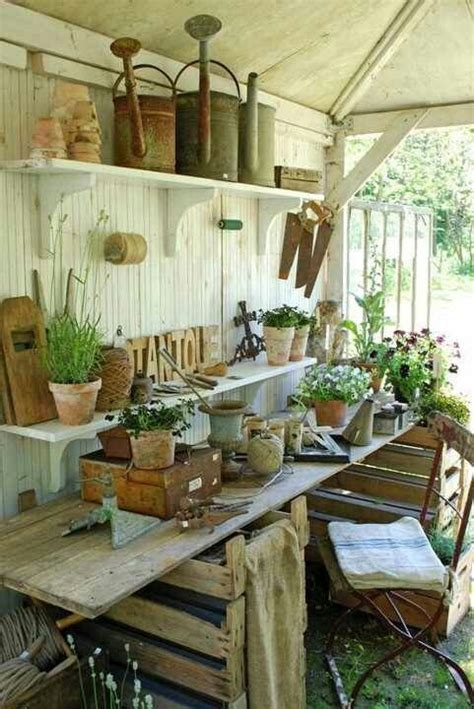 25 best ideas about potting sheds on garden
