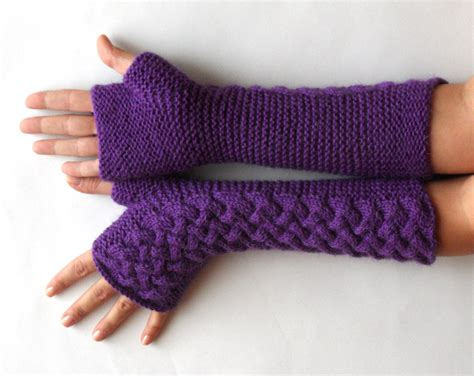 knit fingerless gloves pattern knit pattern for cable fingerless gloves p0007