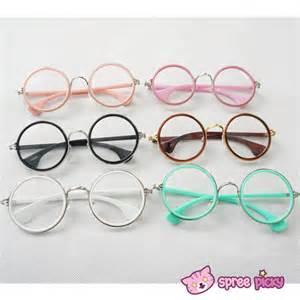 6 colors retro big round cute glasses sp141333