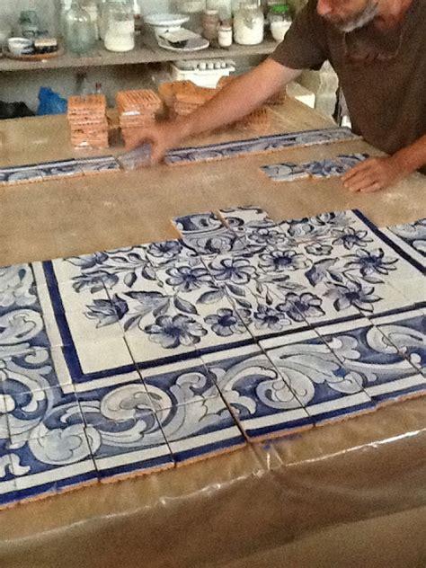 nathalie morhange pintura decorativa azulejos