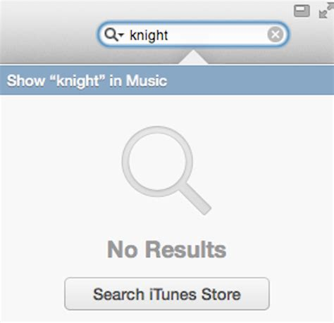 No Search Itunes 11 More Complete Search Results Daves Computer Tips