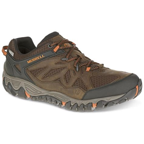 mens waterproof sneakers merrell s all out blaze vent waterproof hiking shoes