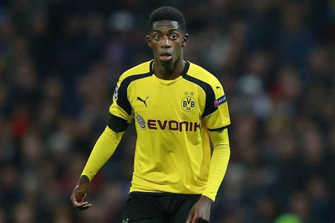 ousmane dembele english ousmane dembele reveals offers from man utd and barcelona