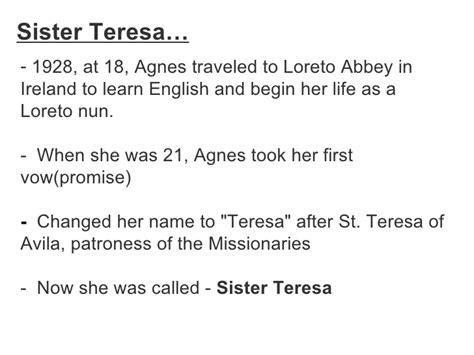 Essays On Teresa by Essay On My Model Teresa Cardiacthesis X Fc2