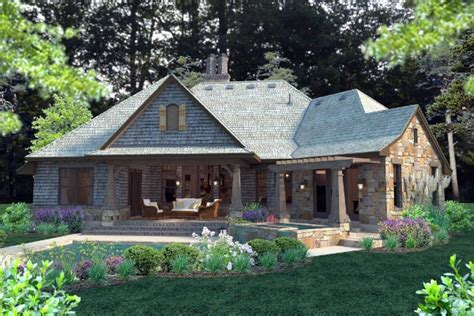 Ranch Style Home Plans With 3 Car Garage #16: 75134-r.jpg