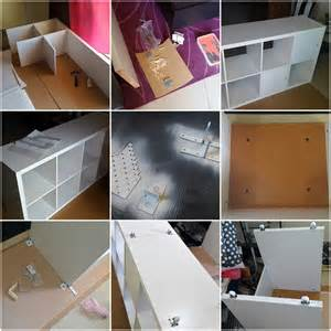 Ikea Billy Bookcase Glass Doors Ikea Kallax Linnmon Desk Hack Ikea Hackers Ikea Hackers