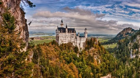 windows 7 desktop themes germany neuschwanstein castle wallpapers wallpaper cave