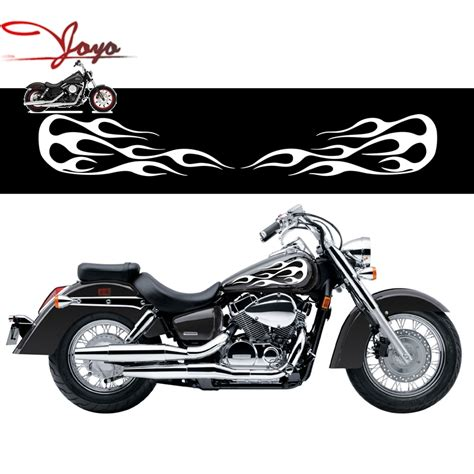 Honda Tank Sticker by Motorcycle Flame Gas Tank Decals Stickers For Honda Shadow