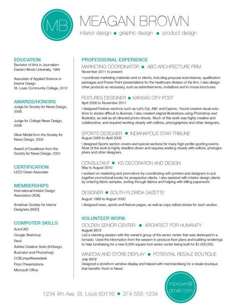 Resume Color by Color Resume Best Color For Resume 28 Images 52 Best
