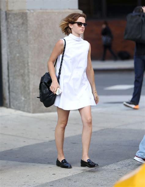 emma watson casual emma watson casual chic outfit new york city 4 23 2016