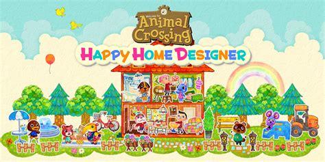 animal crossing home design games animal crossing happy home designer nintendo 3ds