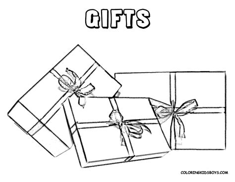 coloring pages christmas gift boxes christmas coloring pictures christmas day free