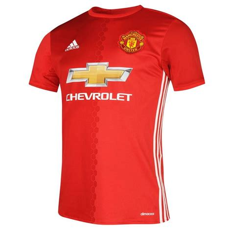 Jersey Manchester United Home adidas adidas manchester united home shirt 2016 2017
