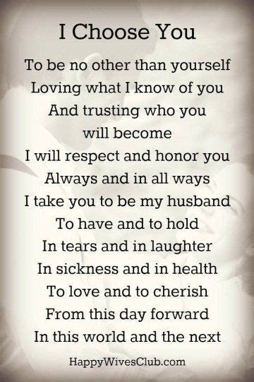 Romantic Wedding Vows Examples For Her and For Him