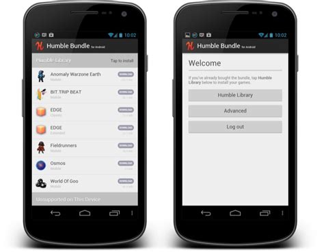 humble bundle android humble bundle beta app im play store