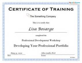 Training Certificate Template Training Certificate Templates Related Keywords