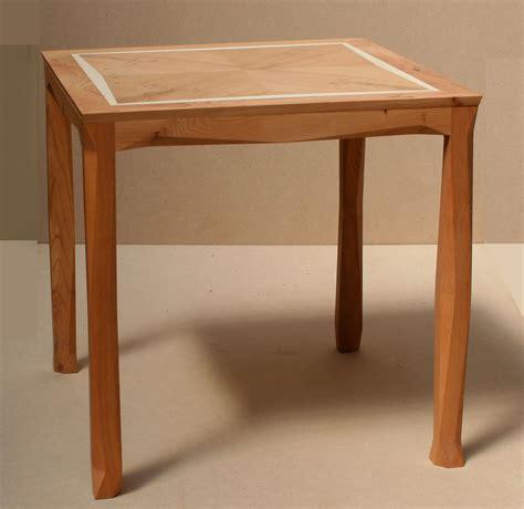 table zig zag bespoke zig zag side table in yew and makers eye