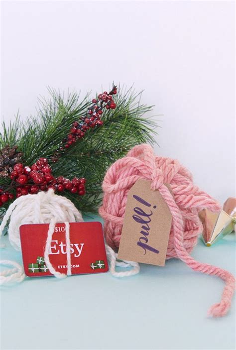 Fun Ways To Wrap A Gift Card - 10 creative ways to wrap a gift card etsy journal