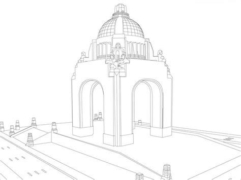 imagenes del monumento ala revolucion mexicana para colorear monumento a la revolucion by daymon20 on deviantart