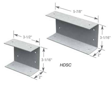 dietrich metal framing span tables hdsc header bracket info clarkdietrich building systems
