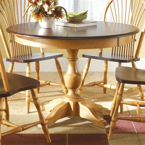 Canadel Custom Dining Customizable Round Table With Custom Dining Room Furniture