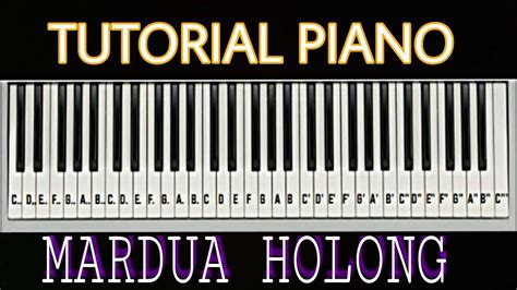 tutorial keyboard lagu rindu horas bah tutorial piano mardua holong by adi youtube