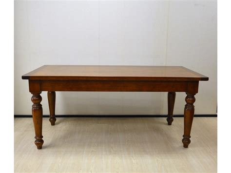 produzione tavoli tavolo rettangolare in legno massello di produzione