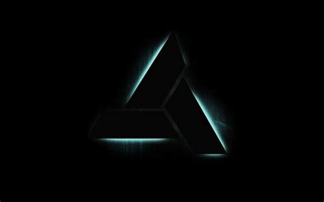 wallpaper black triangle assassins creed abstergo industries logos triangle black
