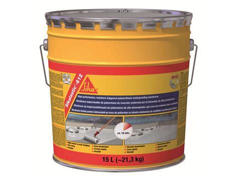 sika impermeabilizzazione terrazzi impermeabilizzazione liquida sikalastic 174 612 sika italia