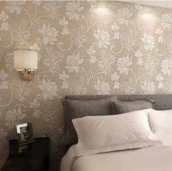 Bedroom Wall Texture by Aliexpress Com Buy Fashion Non Woven Floral Flower 3d