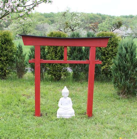 garten ideen eingang torii 04 japan garten holzbogen torbogen tor holz feng
