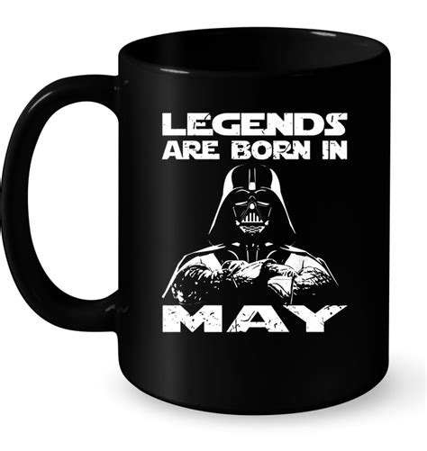 Legends Are Born legends are born in may darth vader t shirt teenavi