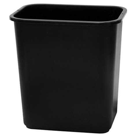 Bathroom Trash Can Lowes Shop Style Selections 7 Gallon Black Plastic Touchless