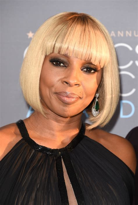 mary j blige hairstyle with sam smith wig mary j blige b o b b o b lookbook stylebistro