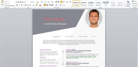 layout of a cv 2015 stagepfe docx free curriculum vitae 2015 template