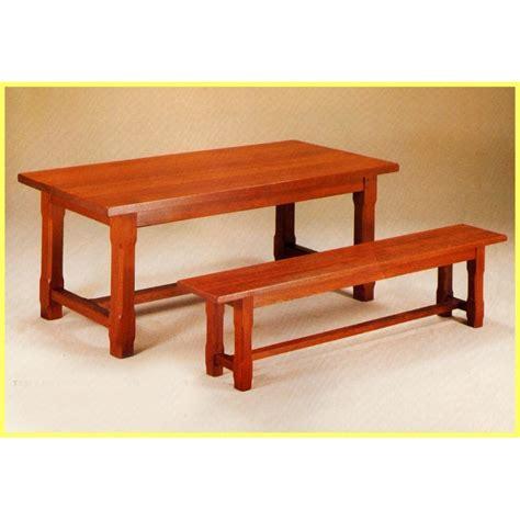 table de ferme avec banc banc pour table de ferme finition 1 meubles de normandie
