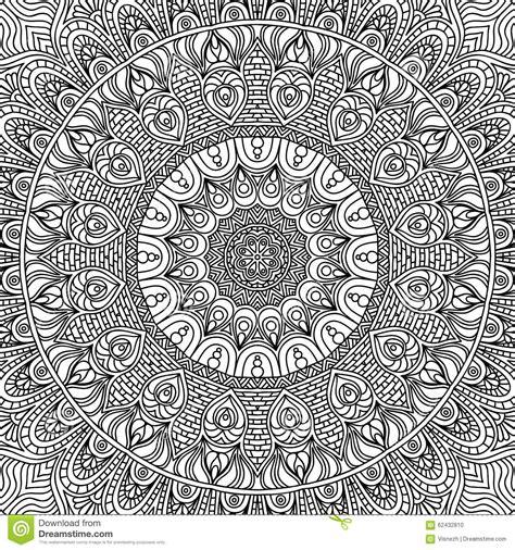 mandala coloring pages vector mandala coloring page stock vector image 62432810