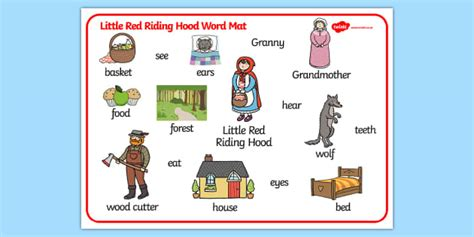 Tale Word Mat by Word Mat Word