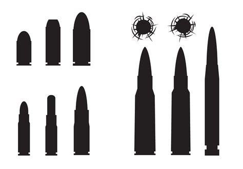 Bullet To The free bullets and bullets vector free
