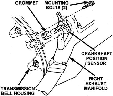 302 Ckp Crankshaft Position Sensor Toyota Vios repair guides components systems crankshaft