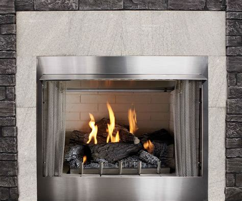 Exterior Gas Fireplace by 42 Quot Outdoor Gas Fireplace Electronic Ignition S Gas