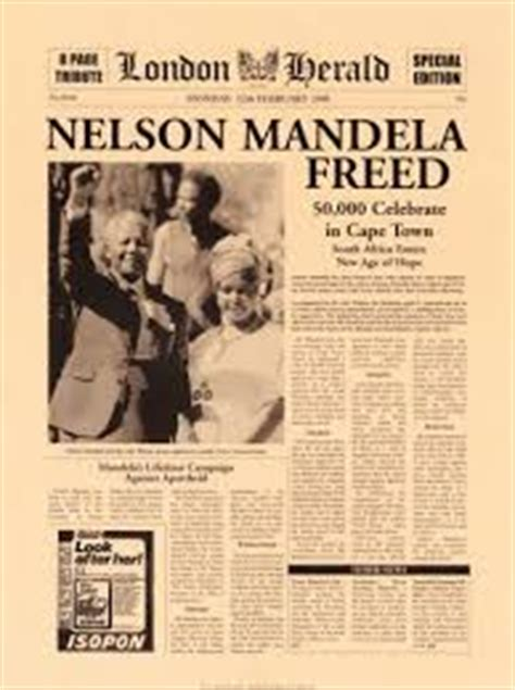 nelson mandela research paper nelson mandela released from prison research papers on the