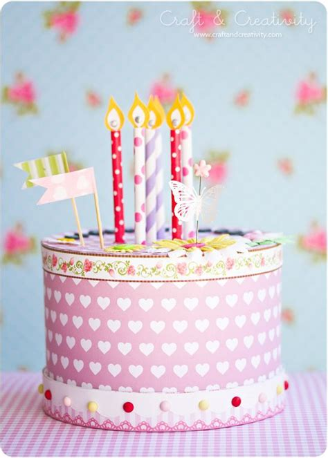 How To Make A Paper Cake - 25 best ideas about paper cake on cake boxes
