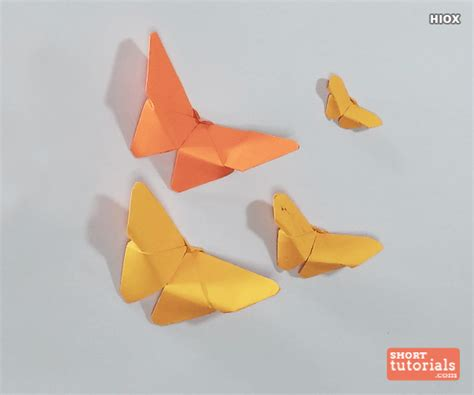 Paper Butterflies How To Make - origami butterfly how to make a paper butterfly