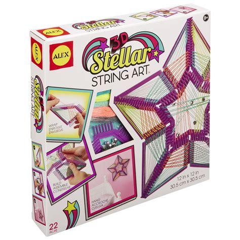 craft kit for alex toys craft 3d stellar string alexbrands