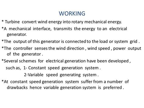 induction generator for wind power generation ppt induction generator for wind power generation ppt