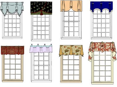 Different Styles Of Kitchen Curtains Decorating 50 Window Valance Curtains For The Interior Design Of Your Home